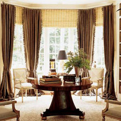 Curved Curtain Rods - Great Idea For Your Arched and Bow Windows!
